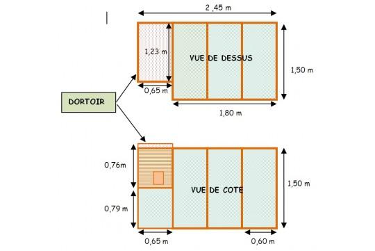 Préférence Plan poulailler - Mon poulailler XK35