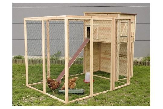 Poulailler pour 7 poules mon poulailler for Construire un poulailler en dur